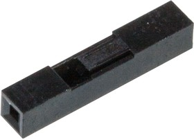 Dupont 1pin, корпус разъема 2.54мм 1 контакт