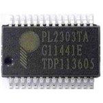 PL2303TA, Контроллер USB - Serial Bridge, [SSOP-28]