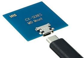 CX70M-24P2, USB TYPE-C RECEPTACLE MID MOUNT