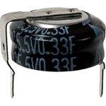 Фото 4/5 EECS0HD334H, 0.33 Ф, 5.5 B, 10 мм, 1207H, Ионистор