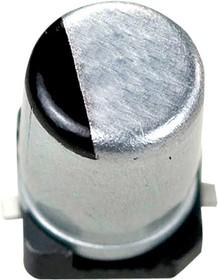 Фото 1/3 ЧИП электролит.конд. 10мкф 16В 105гр, 4x5.8(B),EEEFK1C100R