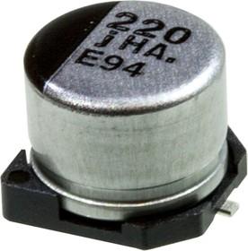 Фото 1/2 ЧИП электролит.конд. 220мкф 6.3В 105гр, 6.3x5.4(D),EEEHA0J221WP