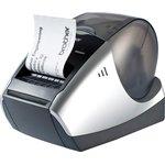 Принтер Brother QL-570 стационарный черный/серебристый [ql570r1]