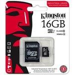 Карта памяти microSDHC UHS-I U1 KINGSTON 16 ГБ, 90 МБ/с ...
