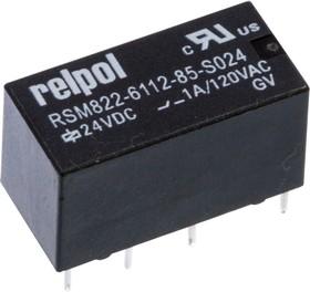 RSM822-6112-85-S024, Сверхминиатюрное реле