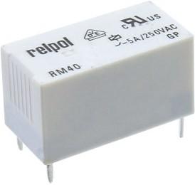 Фото 1/2 RM40-2011-85-1012, Реле 12VDC 1 Form C 250VAC/А