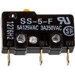 SS5F, Микропереключатель (5A 125VAC) 50g