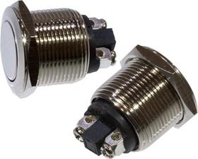 SC-988 A, Кнопка антивандальная металл 19мм 250В/2А | купить в розницу и оптом