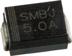 Фото 1/2 SMBJ5.0A-TR, Диод защитный 5В 600Вт [SMB]
