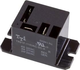 TR91-110VAC-SC-A, реле 110/20A 240VAC