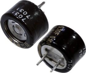 Фото 1/3 EECRF0H104N, ионистор 0,1Fx5,5V -40+85C серия RF радиальн.выв(Panasonic)