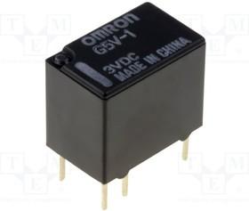 G5V-1 3VDC, Реле: электромагнитное; SPDT; Uобмотки:3ВDC; 0,5A/125ВAC; 150мВт