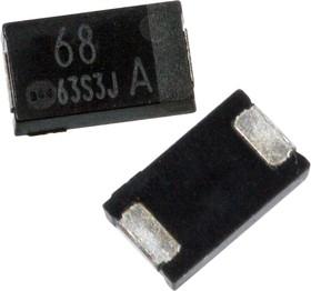 EEFCX1A680P, ЧИП электролит.конд. 68мкф 10В -55+105гр 7.3х4.3