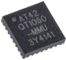 AT42QT1060-MMU, QTouch 6-ch AKS PWM for L