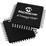 Фото 2/2 ATMEGA165A-AU, 8 Bit MCU, AVR ATmega Family ATmega16X Series Microcontrollers, 16 МГц, 16 КБ, 1 КБ, 64 вывод(-ов)
