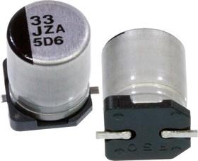 Фото 1/2 EEHZA1J330P, ЧИП электролит.конд. 33мкф 63В 105гр, d8x9.2