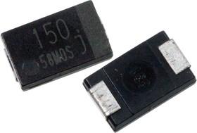 EEFSX0J151P, ЧИП электролит.конд. 150мкф 6.3В 105гр, 7.3x4.3
