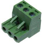 Фото 2/2 MC100-508-03P, клеммник винтовой, 3-контактный, 5.08мм, угловой