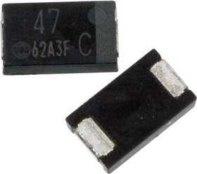 EEFCX1C470P, ЧИП электролит.конд. 47мкф 16В 105гр, 7.3x4.3