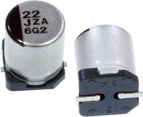 Фото 1/3 EEHZA1J220XP, ЧИП электролит.конд. 22мкф 63В 105гр, d6.3x7.7