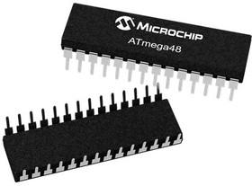 ATMEGA48A-MU, MCU 8BIT ATMEGA AVR 4KB FLASH QFN32 EP