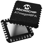 Фото 3/7 ATmega48-20PU, Микроконтроллер 8-Бит, AVR, 20МГц, 4КБ Flash [DIP-28]