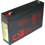 GP672, Аккумулятор свинцовый 6B-7.2Ач 151x34x94