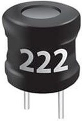 RLB1112V4-222J, Fixed Inductor 2.2mH 5% T