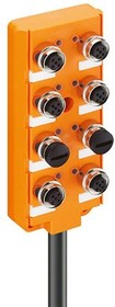 911-5M NC, M12 PLASTIC 8PORT 2SIG