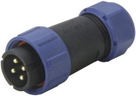 SP2110/P5II1N, 5 WAY CABLE CONNECTOR PLUG 30A IP68