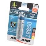 ANSMANN 1307-0001 18650 3500мАч с защитой BL1, Аккумулятор