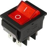 IRS-202-2B3 (красный), Переключатель с подсветкой ON-ON (15A ...