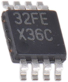 TLV2316IDGKR, 10MHZ LOW-NOISE RRIO OP AMPLIFIER VSSOP8