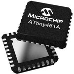 Фото 2/2 ATTINY461-20SU, 8 Bit MCU, AVR ATtiny Family ATtiny461 Series Microcontrollers, 20 МГц, 4 КБ, 256 Байт