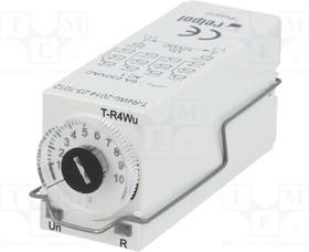 T-R4-WU-12VDC, Реле времени функция Wu 12В DC