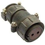 ШР28П2НШ7 розетка, Разъем на кабель с прямым патрубком для ...