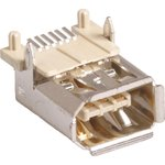 IEEE 1394 (DS1102), SMD розетка на плату (OBSOLETE)