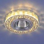 Фото 2/4 6034 MR16 CH/CL / Светильник встраиваемый хром/прозрачный