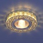 Фото 3/4 6034 MR16 CH/CL / Светильник встраиваемый хром/прозрачный
