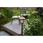 Фото 5/9 GLXT-1450F / Светильник садово-парковый Virgo F черное золото