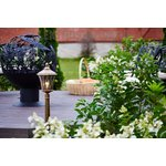 Фото 6/9 GLXT-1450F / Светильник садово-парковый Virgo F черное золото