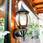 Фото 3/3 GL 1001U / Светильник садово-парковый 1001U черный / 9913-С