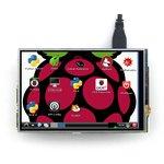 Фото 3/8 4inch RPi LCD (A), IPS дисплей 320×480px с резистивной сенсорной панелью для Raspberry Pi