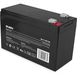 Battery SVEN SV 1272 (12V 7.2Ah), 12V voltage, 7.2A*h capacity, max. discharging rate of 105A, max. charging rate 2.1A, the type of lead-aci