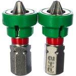 Бита с магнитным ограничителем/держателем PH 2x25 мм 2 шт 11-01-296