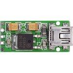 MIKROE-658, USB Reg Board, Встраиваемый стабилизатор напряжения, Uвх=5В(USB) ...