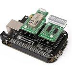 Фото 4/4 MIKROE-1596, BeagleBone click shield, Плата расширения для подключения модулей mikroElektronika серии click (mikroBUS) к BeagleBone