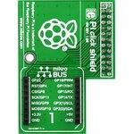Фото 4/5 MIKROE-1513, Pi click shield - connectors soldered, Плата расширения для подключения модулей mikroElektronika серии click (mikroBUS) к Raspb