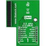 Фото 5/5 MIKROE-1513, Pi click shield - connectors soldered, Плата расширения для подключения модулей mikroElektronika серии click (mikroBUS) к Raspb
