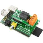 Фото 2/5 MIKROE-1513, Pi click shield - connectors soldered, Плата расширения для подключения модулей mikroElektronika серии click (mikroBUS) к Raspb